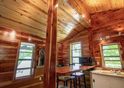 Jasper Cabin Rentals Cozy Cedar 5