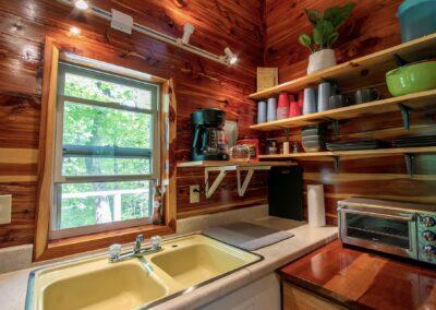 Jasper Cabin Rentals Cozy Cedar 6