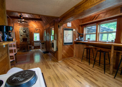 Jasper Cabin Rentals Inside Kellys 3